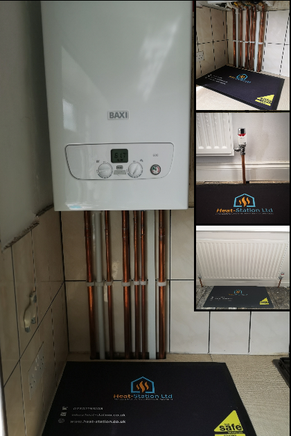 New Baxi 600 with system filter and a 7 year warranty