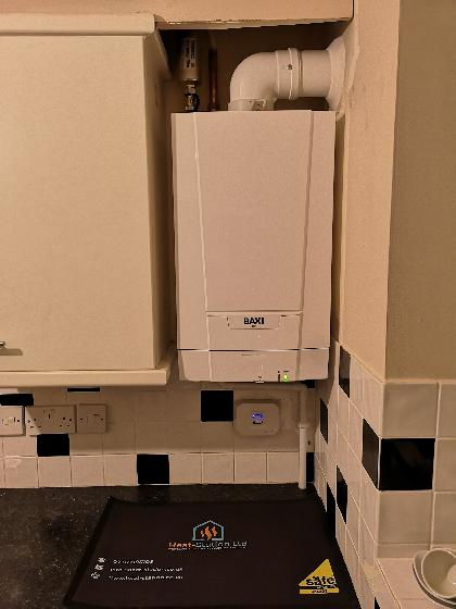 New Baxi 415 heat only with system filter and 5 year warranty